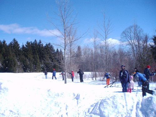 Ski and Snowshoe for Free at Crossroads at Big Creek