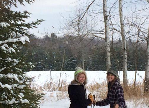 Skiing at Crossroads